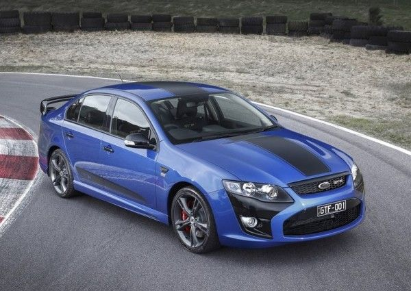 2014 FPV GT F 351 Front Angular Images 600x425 2014 Ford FPV GT F 351 Review, Specs and Performance