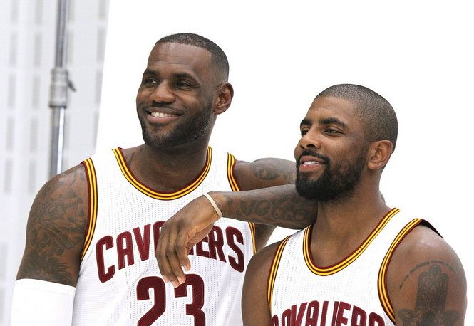 This excerpt from Terry Pluto's new book 'The Comeback: LeBron, the Cavs & Cleveland' describes the late-night meeting at which the Cavs convinced Kyrie Irving to extend his contract — a crucial first step toward a championship.