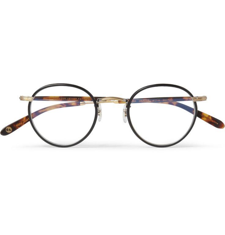 Garrett Leight California Optical Wilson Tortoiseshell Acetate and Metal Optical Sunglasses | MR PORTER