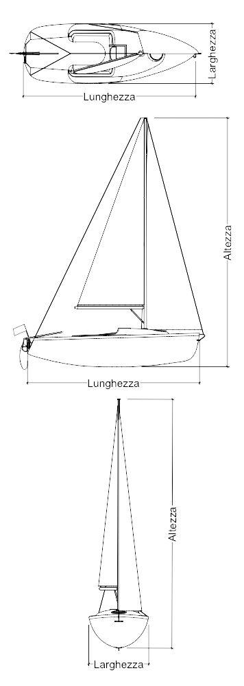 barca a vela disegno fronte - Cerca con Google