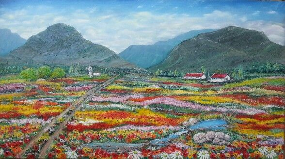 Oils by Caren. Namaqua...maybe