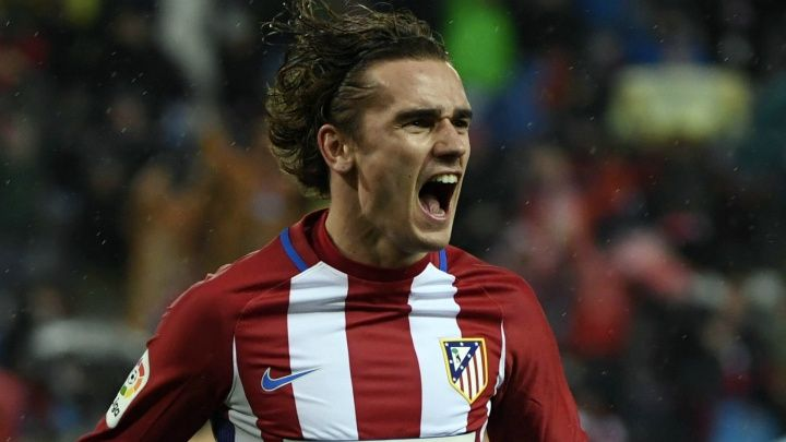 Luis Aragones' long-standing mark was overtaken by the France star against Bayer Leverkusen on Tuesday Antoine Griezmann has become Atletico
