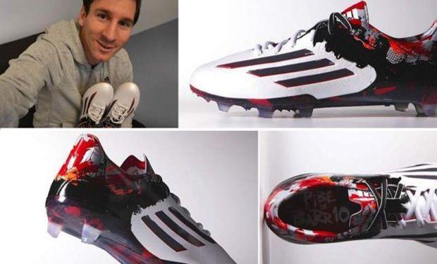 Nuevos botines de Messi podrían ser los culpables de su lesión