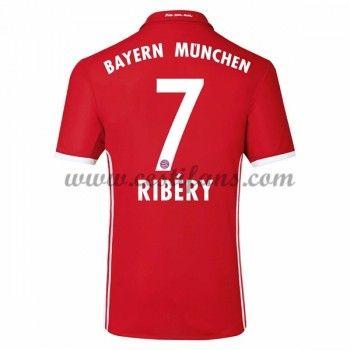 Bayern Munich Fotbalové Dresy 2016-17 Ribery 7 Domáci Dres