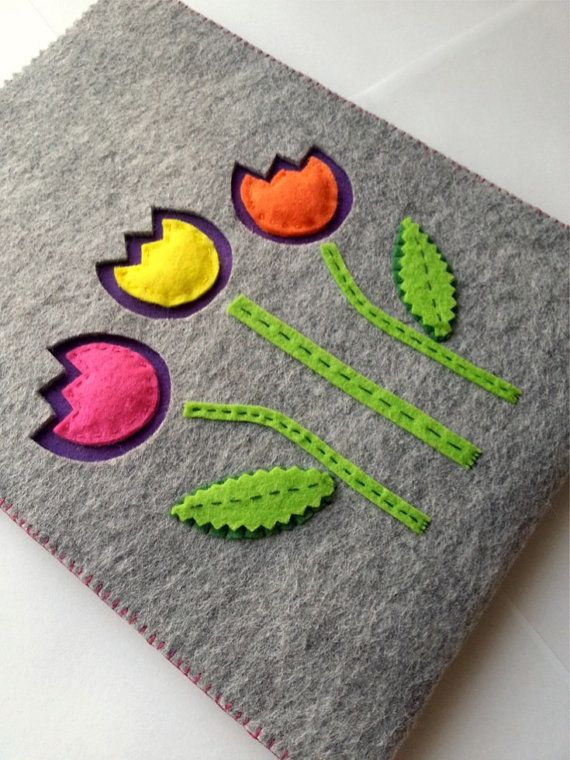 Handsewn Felt IPad Tablet Case/ IPad by CuteLittleThingsByEA, $34.00