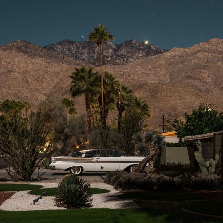 Dwell - Here's Palm Springs In All Its Nighttime Glory