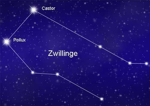 Sternbild Zwillinge Zwilling – Infos zu Lage und Sichtbarkeit