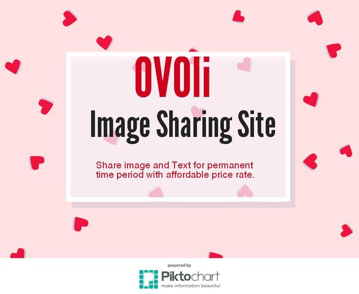 Free save your images and text in Ovo.li for a long time period. We are giving you option for unlimited images storage data with 1$ or 8$ monthly or annual cost.
