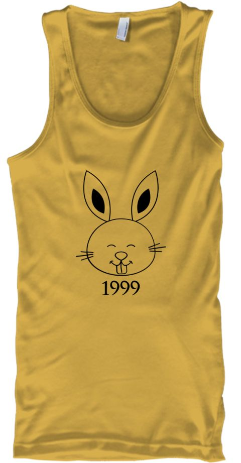 Rabbit-1999  Gold T-Shirt Front
