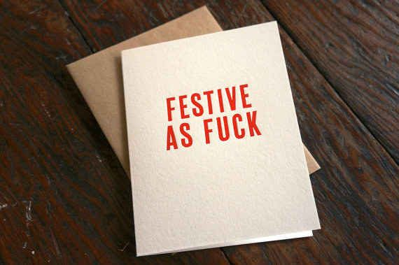 23 Sweary Christmas Cards You Need To Send Right Now