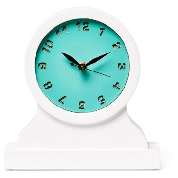 Check out this item at One Kings Lane! Hugo Mantel Clock, Turquoise