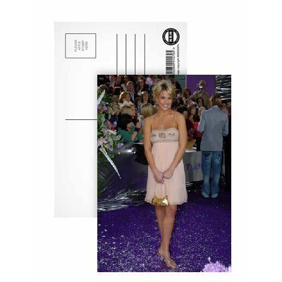 Gemma Atkinson (Lisa Hunter, Hollyoaks) - Postcard (Pack of 8) - 6x4 inch - Art247 Highest Quality - Standard Size - Pack Of 8 by Art247. $8.00. This photographic Postcard is created on 300gsm FSC approved card. The result - a stunning reproduction at an affordable price. Actual size 6x4 inches.This is an automated preview only. Actual Postcard design may vary. All products are hand finished by our expert manufacturers and the best crop available will always be selected.