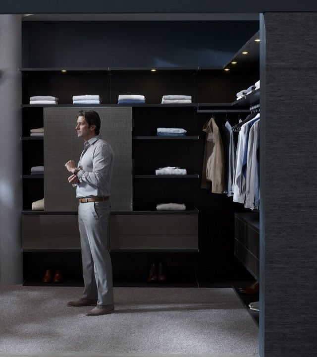 California Closets Dfw Luxury Walk In Closet For Him
