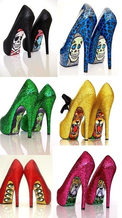 I never wear heels but these are just fun to look at…and I wouldn't mind making some, either! | followpics.co