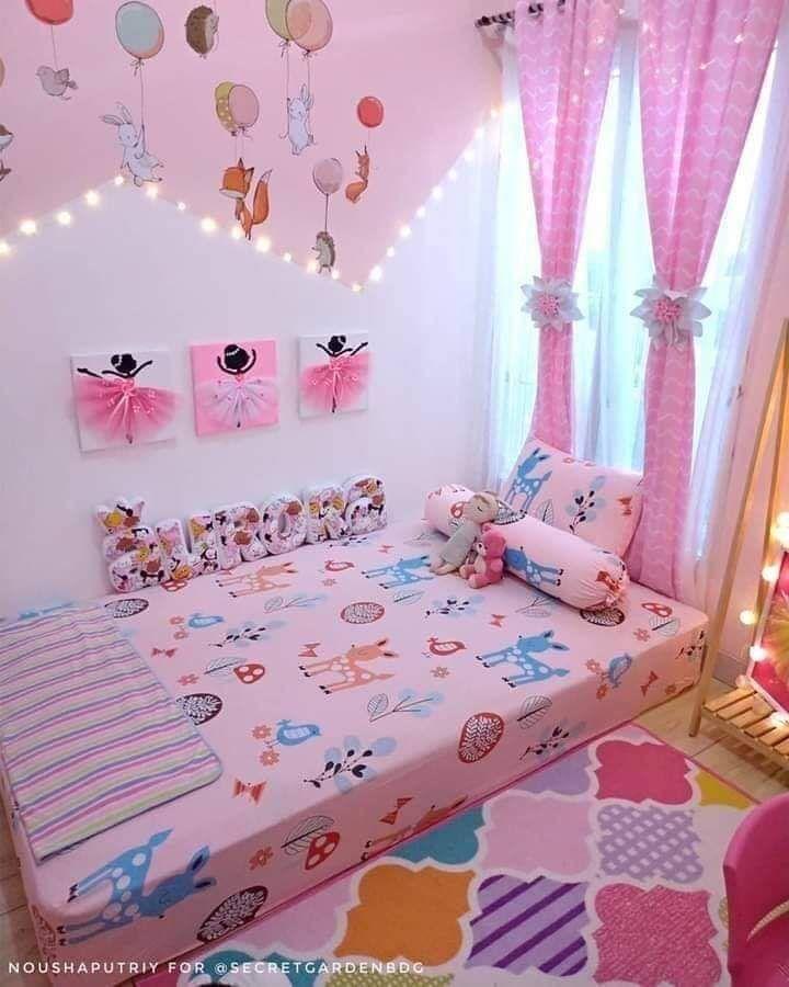 Home Decor   Ide dekorasi kamar, Ide kamar tidur, Kamar tidur anak perempuan