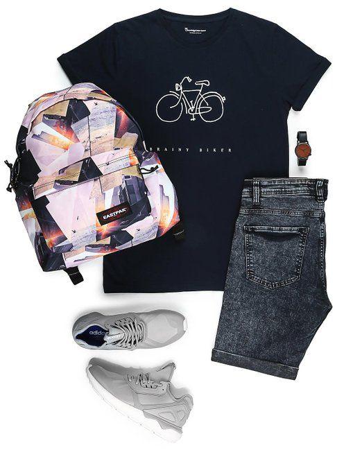 Knowledge Cotton Apparel - T-shirt - Tee W/Bike Print - G: Amazon.fr: Vêtements et accessoires