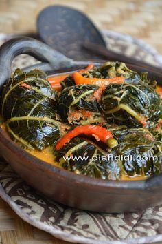 Diah Didi's Kitchen: Buntil Daun Pepaya Kuah Pedas