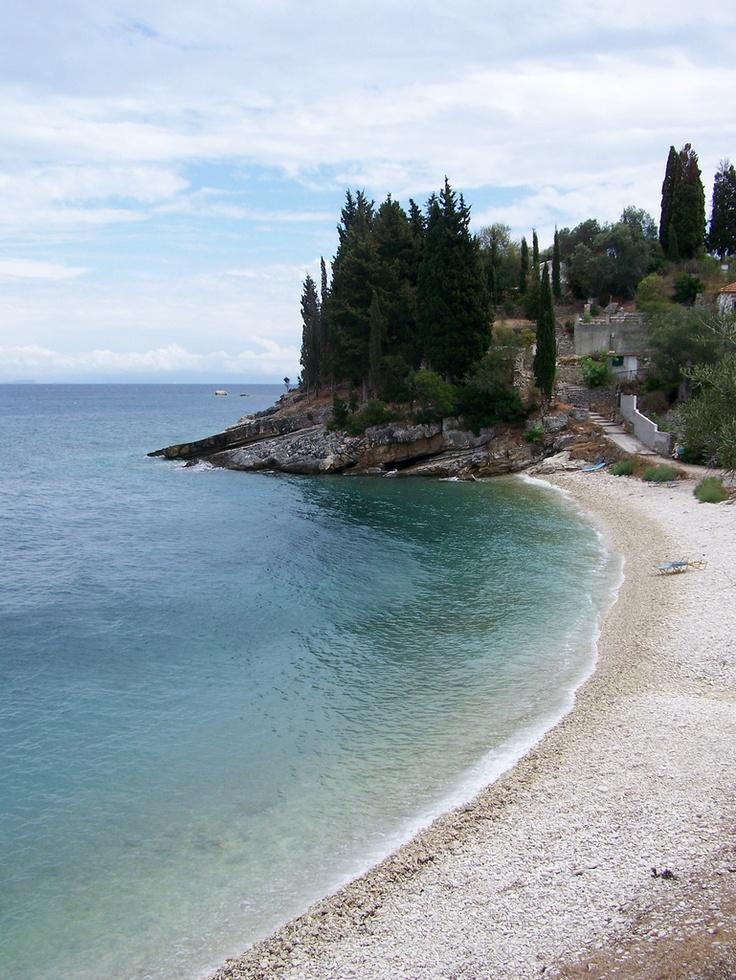 Leverechia beach near Loggos, Paxos