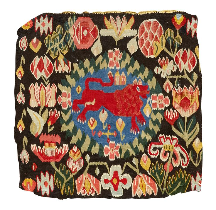 "Antique swedish ""flamsk"" weaving, around 1800."