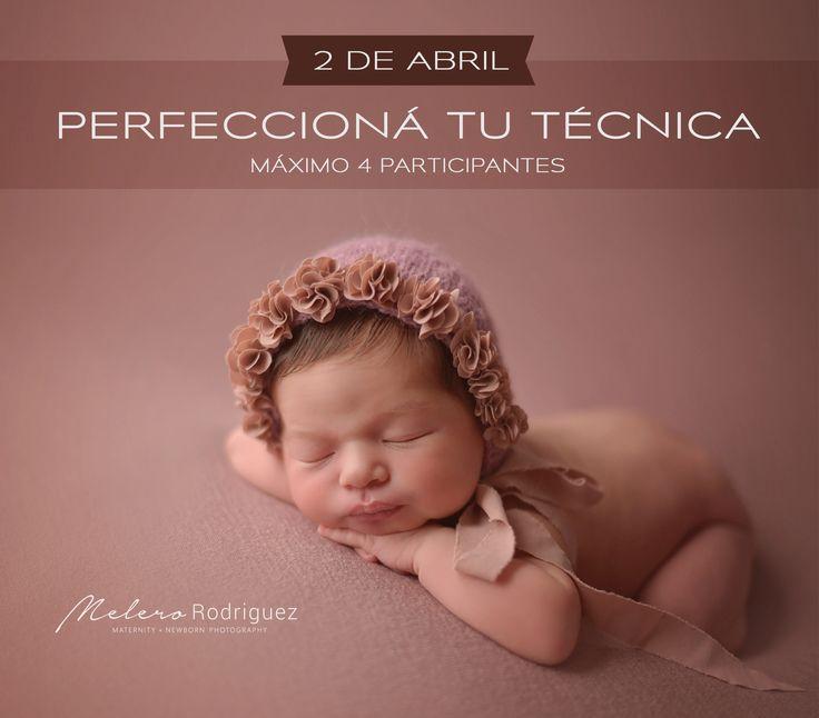 NUEVO - 2 DE ABRIL en ROSARIO - PERFECCIONÁ TU TÉCNICA MÁXIMO de 4 participantes - Solo alumnos avanzados!  Una jornada intensiva de práctica fotográfica con bebés recién nacidos (7 horas) enfocada a perfeccionar esas poses que tanto querés lograr. MAS INFO   http://www.melerorodriguez.com/workshop/pos