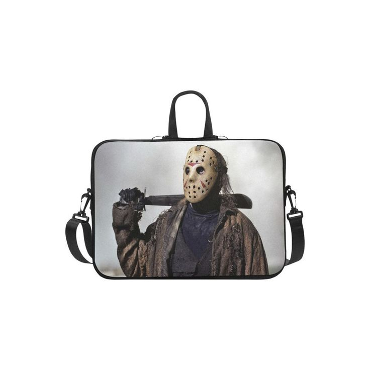 "Jason Voorhees Friday the 13th Sleeve Case Messenger Bag for Laptop 10"" 11"" 13"" 14"" 15"" 15.6"" 17"" and Macbook"