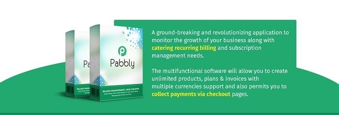 Pabbly Subscriptions – what is it? Pabbly Subscriptions is the world's no.1 and most powerful billing and subscription management software to make the recurring billing an automated process. Stop paying heavy monthly fees, monitor sales analytics, receive payments in multiple currencies and much more with just a few clicks.