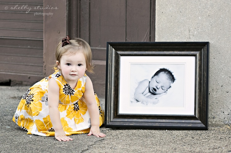 Take a picture of your child every year on their birthday with the previous year's picture.  Shelby Studios Photography | Peoria IL wedding photographers » Peoria wedding photographers » page 3