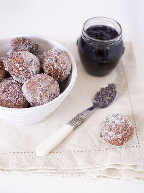 loads of lavender recipes.