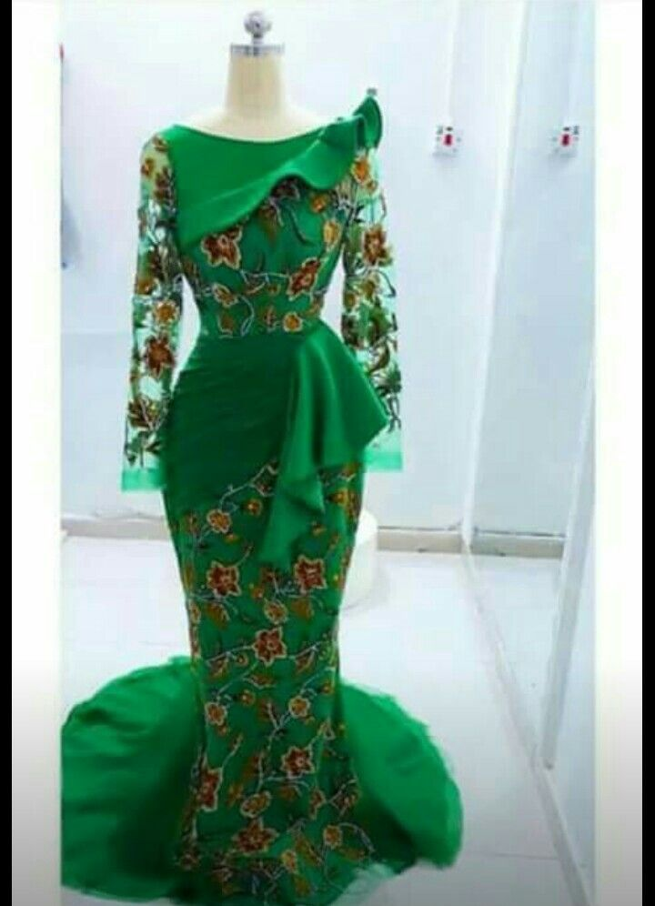 45b947957d303 Pin by Meenah Shapes n sizes on Aso Ebi styles  GOWN  in 2019 ...