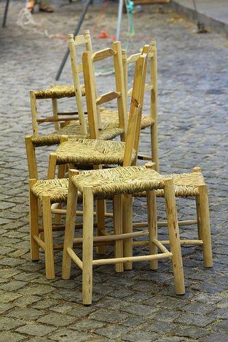 Cadeiras artesanais - Castelo de Vide - Alentejo - PORTUGAL