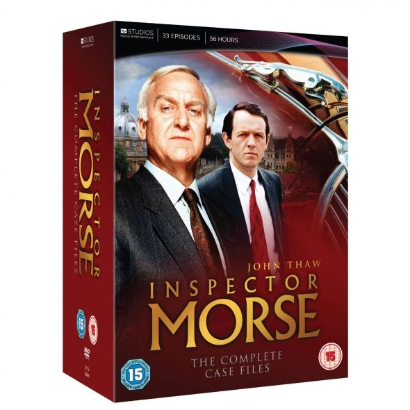 Inspector Morse of the Colin Dexter series of books