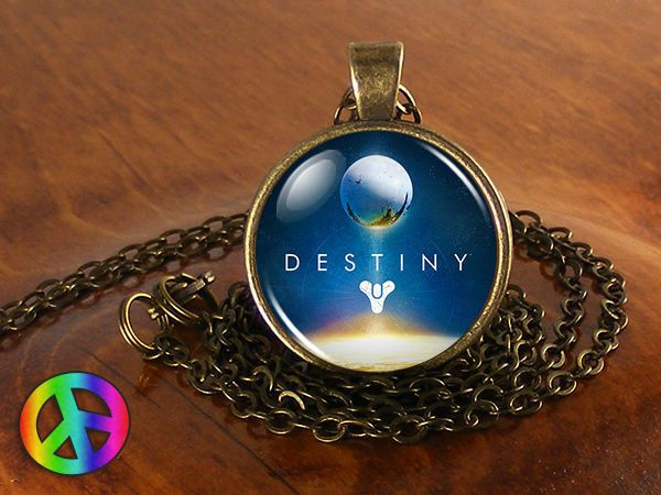 Destiny Space Video Game Cosplay PS4 XBox 360 Necklace Pendant Jewelry Gift