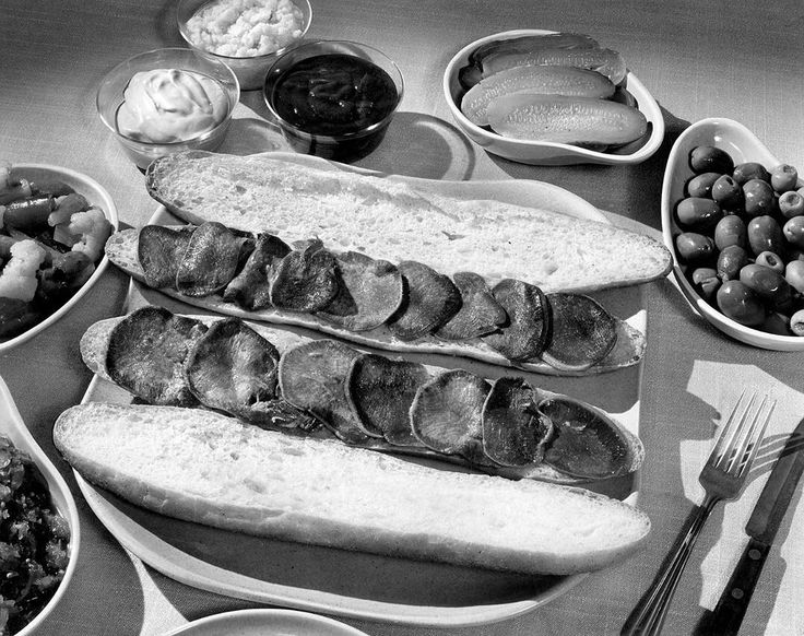 """Our #tbt is from the 1948 story """"Meat Dishes From Tins,"""" in which our editors promoted the benefits of canned meats during the summer. """"Despite what an ex-service man may say with somewhat bitter memories of dining in the Army, canned meats are not all 'just spam!' There is an assortment available of potted meats and sandwich spreads, sliced dried beef, Vienna sausages, tongue, corned beef and roast beef hashes, tamales, chili con carne, stews. Browse in any well-stocked supermarket and see…"""