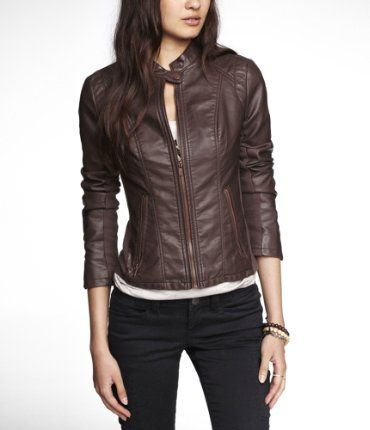 Women's Jackets | Express yesss (if the sleeves aren't really this short, just pushed up)
