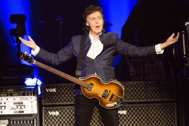 "McCartney brought his ""One on One"" tour's Beatles and solo magic to the Moda Center on Friday."