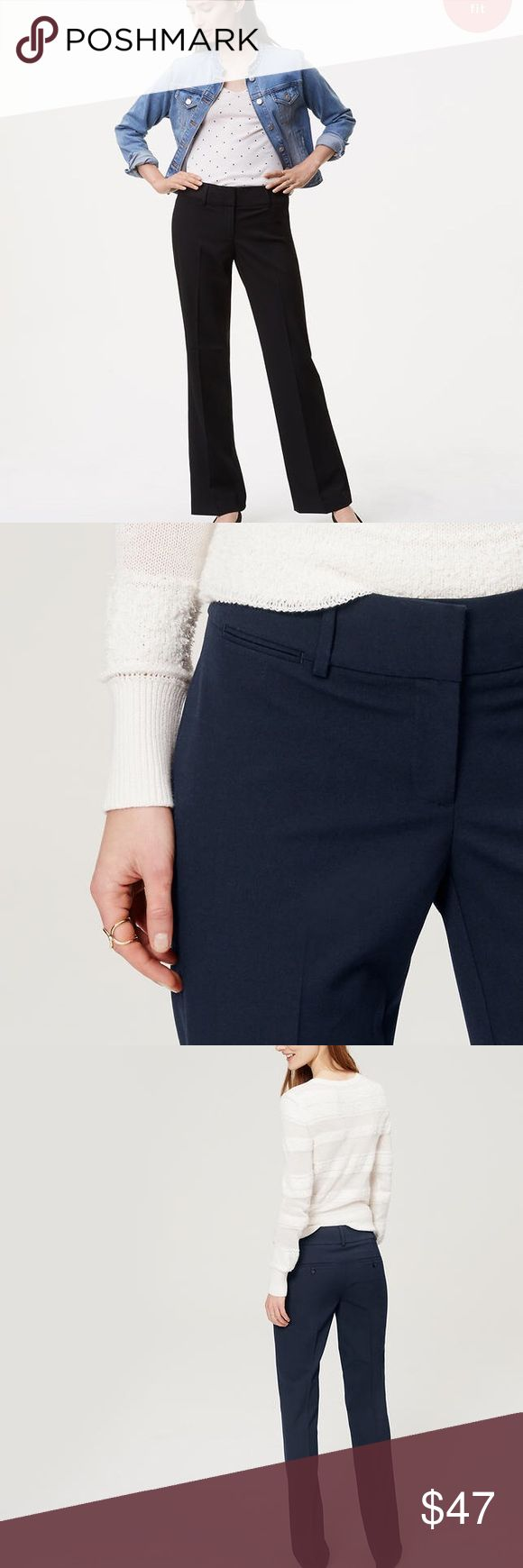 Ann Taylor Loft Tall trouser in custom stretch Ann Taylor loft Tall trouser in custom stretch in Julie Fit. NWT. 6T Ann Taylor Pants Trousers