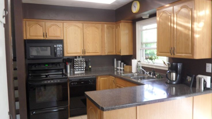 Kitchen Color Ideas With Dark Oak Cabinets