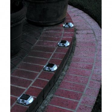 Solar LED Pathway Markers - 4 Piece