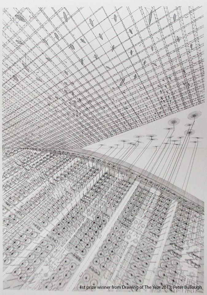 Drawing of the Year 2013, first prize, Peter Bullough, Denmark. http://www.drawingoftheyear.aarch.dk/index.php?id=5379