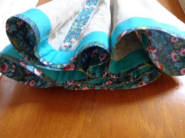 Couture dress hem (in progress) by KittyKittyCrafts (Karissajo), via Flickr