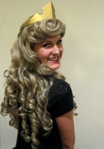 Sleeping Beauty Aurora Adult Costume Wig A True Enchantment Original | eBay