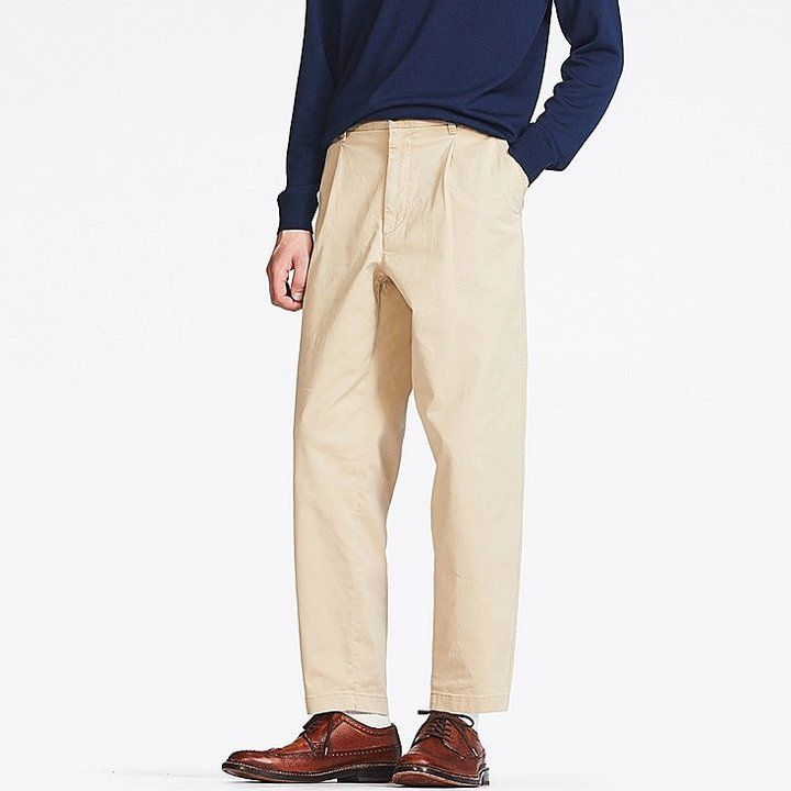 Uniqlo Men's Wide-fit Chino Pants