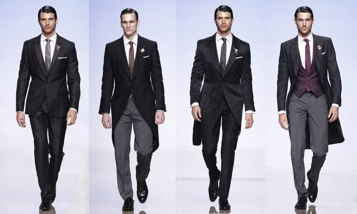 Victorio & Lucchino Groom Suits 2012 // Barcelona Bridal Week 2011