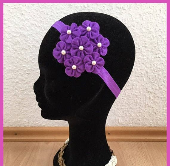 Flower headbandFelt flower headbandbaby headbands infant
