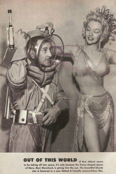 Showgirl 1950s vintage photo