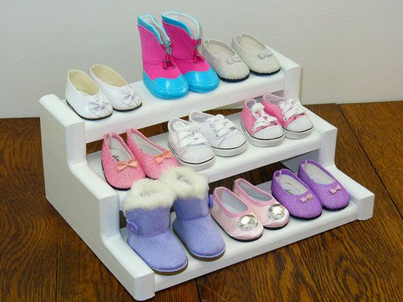18 Inch Doll Furniture / Shoe Rack / Display Stand / Display Shelf / Food  Stand