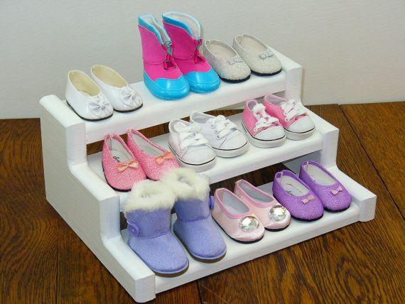 18 Inch Doll Furniture / Shoe Rack / Display Stand / Display Shelf / Food Stand