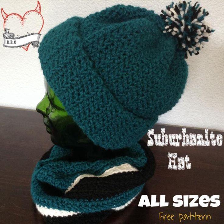 Mejores 544 imágenes de Crochet Hat Patterns en Pinterest ...