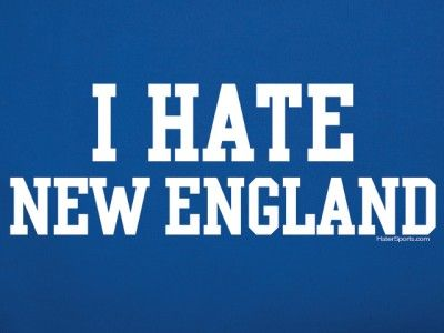 I Hate New England T Shirt