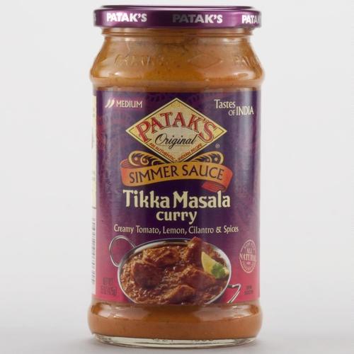 One of my favorite discoveries at WorldMarket.com: Patak's Tikka Masala Sauce